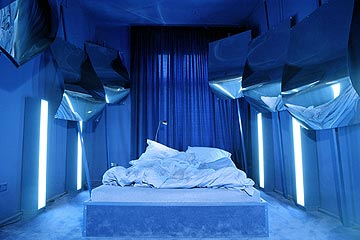 amazing blue room